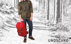 UNDSCVRD Lookbook SS13 Herschel Little America Red