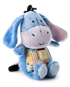 Eeyore is the perfect companion for long car rides with the kids.