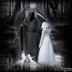 femal gothic grim repers   Girl meets Grim Reaper Picture #126178876   Blingee.com