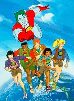 childhood Captain Planet and the Planeteers Movie in the Works From Sony (Exclusive) Cartoon Cartoon, Morning Cartoon, Cartoon Shows, Cartoon Crazy, 90s Childhood, My Childhood Memories, School Memories, Captain Planet Movie, Captain Planet Cartoon