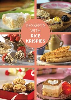 Rice Krispies Treats® make for a tasty dessert or snack, but Rice Krispies® cereal is also a delicious ingredient you can add in muffins, cakes, fruit dippers, and more!