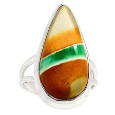 Australian Varichite 925 Sterling Silver Ring Jewelry s.6 RR4965 | eBay