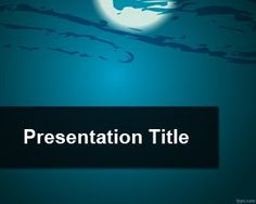 Blue earth wallpaper powerpoint background and templates moonlight powerpoint template toneelgroepblik Image collections