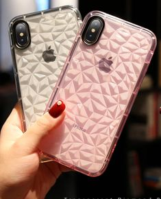 Shockproof Clear Diamond Case For iPhone Gadgets Online, High Tech Gadgets, Iphone Cases, Magic, Wallet, Luxury, Diamond, Stuff To Buy, Tech Gadgets