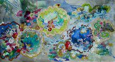 Saatchi Online Artist: Lia Porto; Acrylic, 2012, Painting City Hall Park