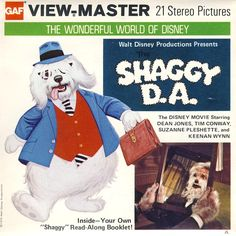 Disney viewmaster The Shaggy D.A.