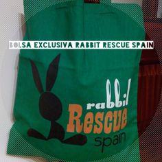 Otra de las chulísimas cosas que componen el lote del #sorteo de #SanValentin !bolsa exclusiva Rabbit Rescue Spain! ¿aun no tienes tus números de la suerte? https://www.facebook.com/events/461802030587400/