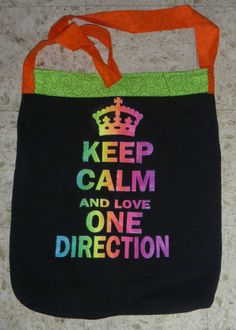 One Direction Concert T-Shirt Bag $20 #OneDirection #concert #tshirt #upcycled