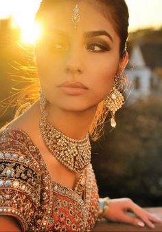 the jewellery and the outfit. only reason id want to have an indian wedding!