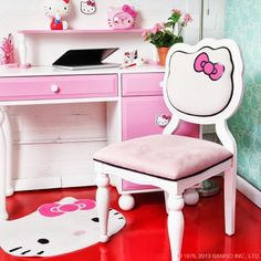 hello kitty office.