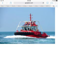 New Tug with a roll cage Merchant Navy, Roll Cage, Tug Boats, Sailing, Evening Sandals, Fire, Sea, Boys, Women