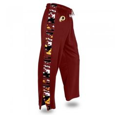 This great looking Zubaz pant is perfect for those times when you need something a little warmer than our traditional Zubaz pant. solid team-colored body with Zubaz print accents down the sides. easy to hook up with the Zubaz team hoodie or your favorite team jersey.   elastic waistband with drawcord midweight poly fleece fabric authentic team logo zipperedankle opening Zubaz print accent two side pockets