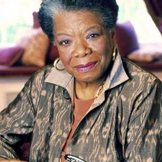 Maya Angelou - my icon!!! <3  #blackHistory http://Facebook.com/prettyincusa  http://myprettyblog.com http://myprettystore.com #prettyInc Pretty Inc Boutique