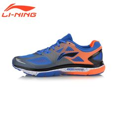 Li-Ning Men Cushion Running Shoes Breathable Textile Sneakers Support TPU LiNing Sports Shoes ARHM057