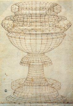 Drawing : Cross Contour Drawing