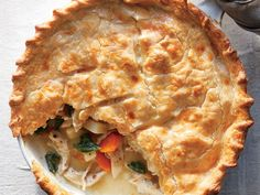 Skillet Chicken and Root Vegetable Potpie | Maintaining a healthy weight or trying to lose a few pounds ultimately revolves around the science of counting calories. It's a tedious task to tabulate every morsel you put in your mouth, but there's a simpler and much more flexible strategy: Start a file of skinny recipes. Use this collection of low-calorie dinners as a starting point. As always, taste comes first, so we've pulled together our best recipes that are big on flavor and in step with…