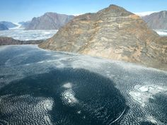 Picture of the day for May 24 2016 by Nasa On May 19 2016 NASA's IceBridge an airborne survey of polar ice crossed Greenland to fly central glacier flowlines in the east-central region of the country. This photo captures the fjord of Violin Glacier with N Nasa Pictures, Astronomy Pictures, Nasa Photos, Nasa Images, Photos Du, Moon Photos, Greenland Ice Melt, Nasa Missions, Space Images