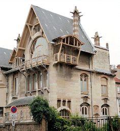 Art Nouveau ~ Villa Majorelle - reminds me of Howl's Moving Castle