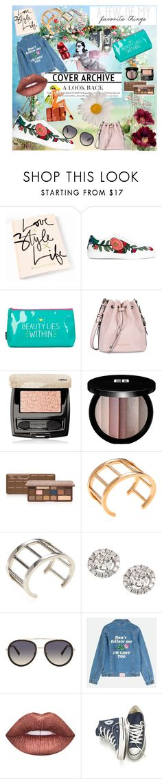"""My Favourite Things _2"" by amiraabada on Polyvore featuring Gucci, Wild & Wolf, Armani Jeans, Lancôme, Edward Bess, Too Faced Cosmetics, Vita Fede, EWA, Kendall + Kylie and Lime Crime"