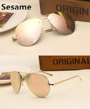 Contain Rose Gold New Luxury Alloy Mirror Sunglasses Cosy Shades Men Women Brand Designer Eyewear Aviator Sun Glasses Oculos     Tag a friend who would love this!     FREE Shipping Worldwide     #Style #Fashion #Clothing    Buy one here---> http://www.alifashionmarket.com/products/contain-rose-gold-new-luxury-alloy-mirror-sunglasses-cosy-shades-men-women-brand-designer-eyewear-aviator-sun-glasses-oculos/