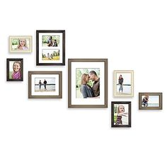 Distressed wood brings the latest in shabby chic to your decor, framing your favorite photos in natural, rustic style. Used singly or grouped with other frames, the simple beauty of these frames showcase your photos while adding atmosphere to your home.