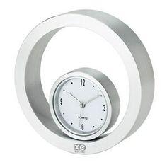 """Unique Rolling Desk Clock  5/8""""x3/16"""""""