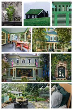 Awesome House, Creative Home, Historic Homes, New Room, Exterior Paint, Housewife, Sage, My House, Facade
