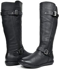 Amazon.com | DREAM PAIRS Women's Trace Black Faux Fur-Lined Knee High Winter Boots Size 8 M US | Knee-High Winter Fashion Boots, Winter Boots, Wide Calf Boots, Knee High Boots, Ankle Boots, Twisted X Boots, Short Rain Boots, Ladies Slips, Boots Online