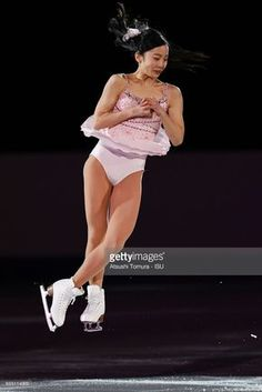 Marin Honda of Japan performs her routine in the exhibition on the day five of the World Junior Figure Skating Championships at Taipei Multipurpose Arena on March 19, 2017 in Taipei, Taiwan.