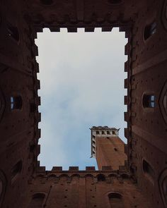 "Inside the ""Torre del Mangia"" in #Siena. A picture by @nicocarmigna."