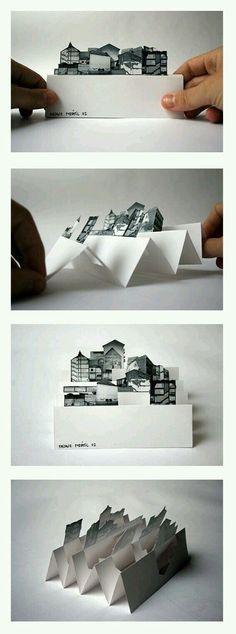 Origami Diy Kirigami Pop Up 53 New Ideas Pop Up Art, Arte Pop Up, Diy Paper, Paper Art, Paper Crafts, Paper Toys, Origami Fashion, Diy And Crafts, Crafts For Kids