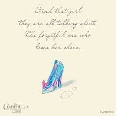 The greatest journeys begin with a single step. Disney's Cinderella is in theatres this Friday!