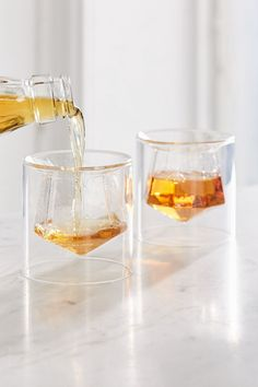 Urban Outfitters Gem Shot Glass - Set Of 2 Clear One Size Kitchen Items, Kitchen Gadgets, Kitchen Decor, Deco Design, Glass Design, Design Design, Bar Deco, Kitchenware, Tableware