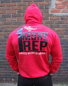 Shredz bodybuilding clothing #hoody one more rep #muscle #training gym hooded top,  View more on the LINK: 	http://www.zeppy.io/product/gb/2/221689401184/