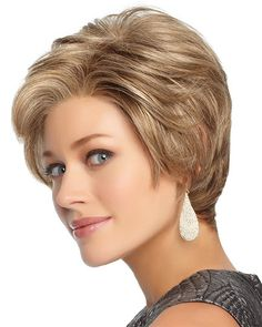 Upscale by Gabor – Beautiful Short Curly Haircuts Low Taper Haircut, Bob Haircut Weave, Bob Haircut Curly, Tapered Haircut, Short Curly Haircuts, Curly Bob Hairstyles, Gray Hairstyles, Short Haircut, Short Lace Front Wigs
