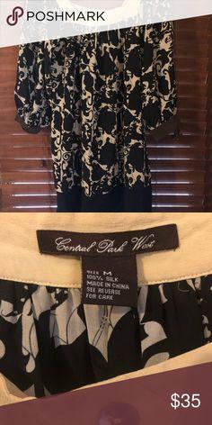 bd8832c9bf2 Central Park West silk tunic/dress. Size M. Central Park West 100%