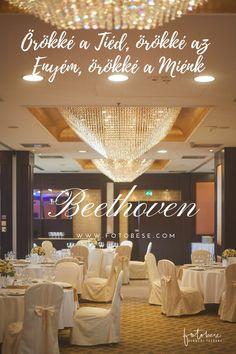 Esküvői idézetek magyarul: Beethoven Quotes, Wedding, Quotations, Valentines Day Weddings, Weddings, Quote, Marriage, Shut Up Quotes, Chartreuse Wedding