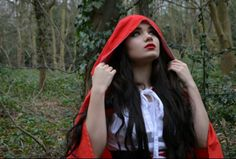Little red riding Hood shoot with Eleanor