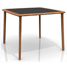 CONTEMPORARY STYLE WOODEN DINING TABLE COEN TABLE ELEMENT COLLECTION BY ACCUPUNTO EUROPE | DESIGN MICHAEL YOUNG