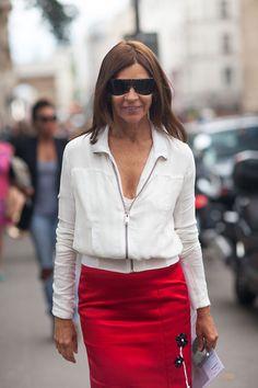 Paris Street Style Fall Couture 2013 - 2013 Fall Haute Couture Parisian Street Style - Harper's BAZAAR