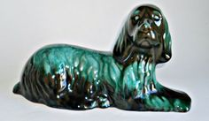 Blue Mountain Pottery Dog Cocker Spaniel BMP by treasurecoveally on Etsy Alcohol Bottles, Still Picture, Blue Mountain, Vintage Pottery, Cocker Spaniel, Lion Sculpture, Statue, Daily Deals, Dogs