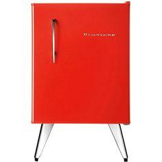 [SUBMOB]Frigobar Brastemp Retrô Bra08av 76 Litros Vermelho - R$769,42