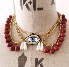 Indie unique necklace
