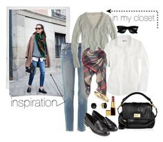 """ootd 10.31.14 - inspired"" by cdsommer ❤ liked on Polyvore featuring Polaroid, Paige Denim, Ray-Ban, J.Crew, Zara, Marc by Marc Jacobs, Kate Spade, Tom Ford and Monsoon"