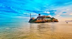 Take a cruise with Alcatraz Cruises to view the site where the first lighthouse on the Pacific Coast was built as well as the location of the infamous Alcatraz, former federal penitentiary.