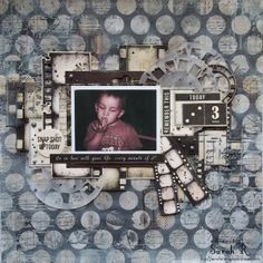 Be in Love with Your Life.Every Minute of It ~~~Scraps of Darkness~~~ - Kaisercraft - Art of Life Collection Picture Layouts, Touch Of Gray, Scrapbooking Layouts, Your Life, Projects To Try, Crafty, Darkness, Frame, Cards