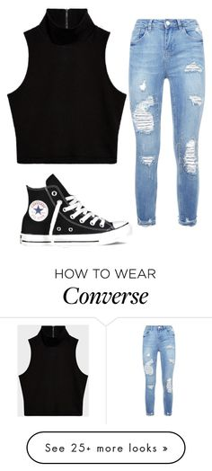 """""""Untitled #1109"""" by itssarahh on Polyvore featuring Converse"""