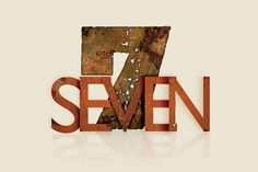 """Goal: This is first round/concept design for our new message series called """"Seven"""". Direction: Basically, using the word seven along with number as the cross. Lucky 7, Lucky Number, Seven Logo, Natural Number, 7 Logo, 7 Seven, The Cross Of Christ, Monogram Letters, Sacred Geometry"""