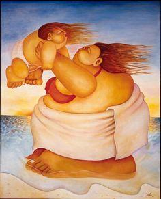 Raices Root - 2003 Alberto Godoy cuban artist cuba habana online paint art gallery painting houston fine art miami florida paintings