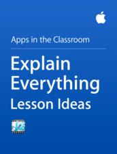 Explain Everything Lesson Ideas is a short interactive guide that offers a wide variety of ideas and tips on how to use Explain Everything app with students in class. It actually outlines 6 basic activities that span different age ranges and subjects: Literacy, Science, Mathematics, and History. Explain Everything Lesson Ideas